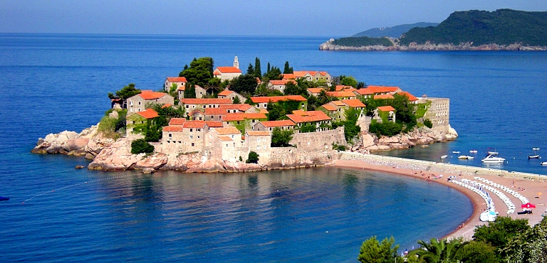 SVETI STEFAN-LUXURY TOURIST RESORT