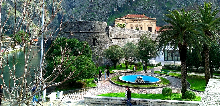 KOTOR–Unesco protected town